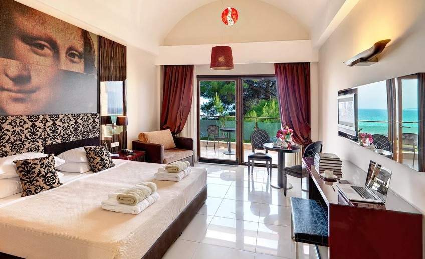 Double room glory at olympion sunset